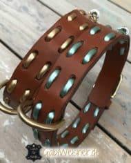 hundehalsband-leder-metallic-1