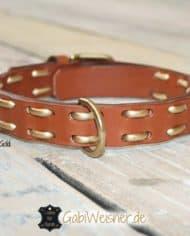 hundehalsband-leder-metallic-gold-1
