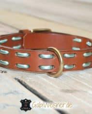 hundehalsband-leder-metallic-tuerkis