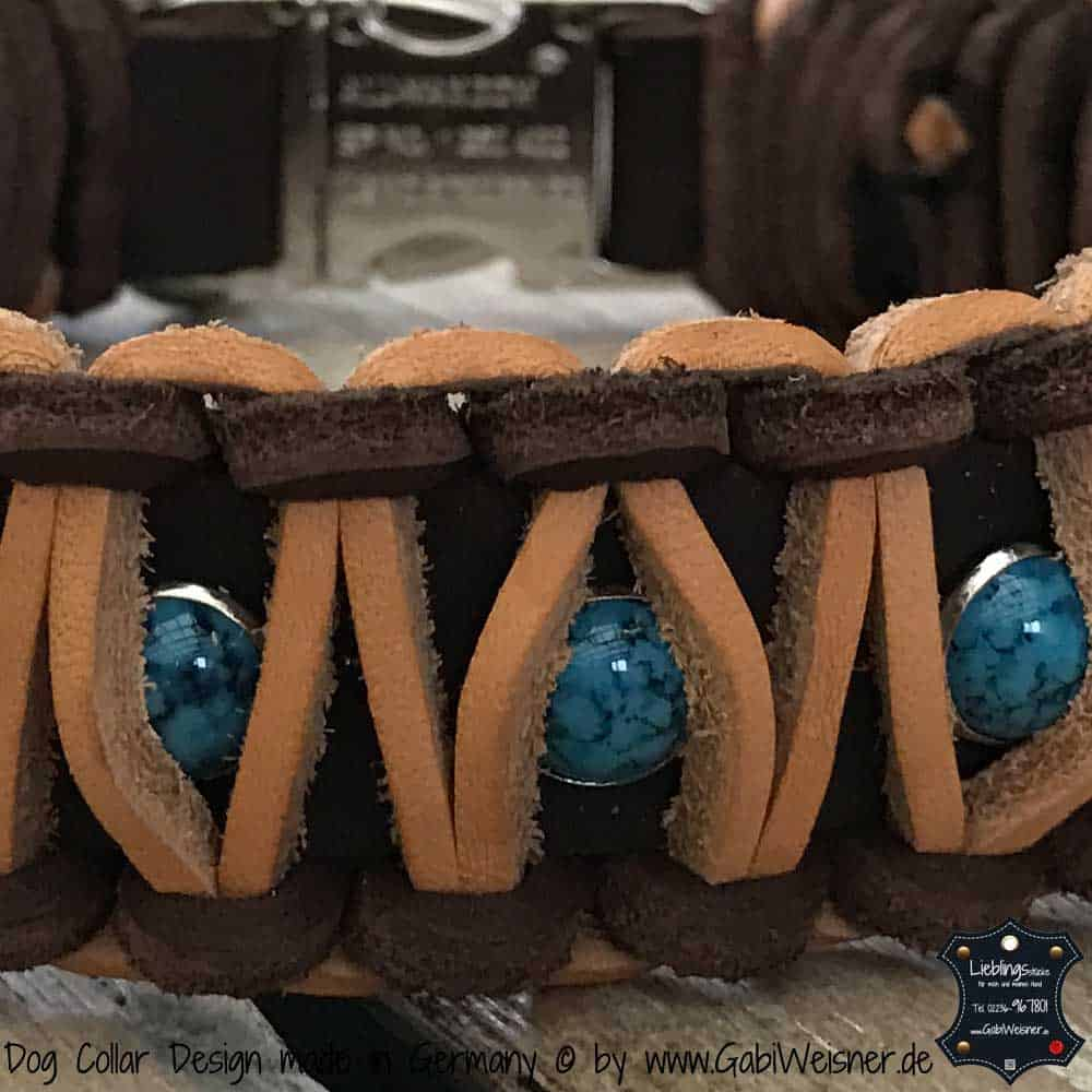 Indianer Halsband mit 2 Farben
