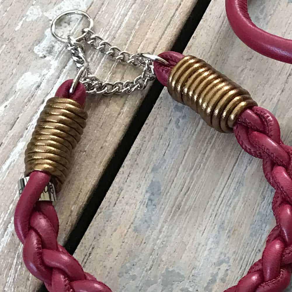 Mini Halsband Zugstopp
