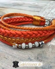 hundehalsband-leder-mix-orange