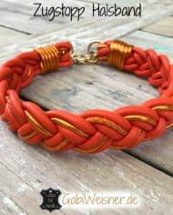 zugstopp-halsband-geflochten-leder-orange-1