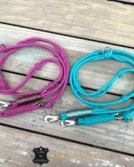 luxus-hundeleine-leder-rundgenaht-doppelstrang-je-6-mm-pink-tuerkis-1