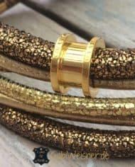 mini-halsband-leder-3-ohr-tunnel-vergoldet-2