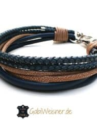 hundehalsband-leder-blau-beige-2