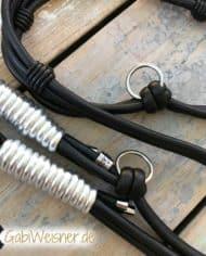 luxus-hundeleine-leder-rundgenaht-doppelstrang-schwarz-silber-4