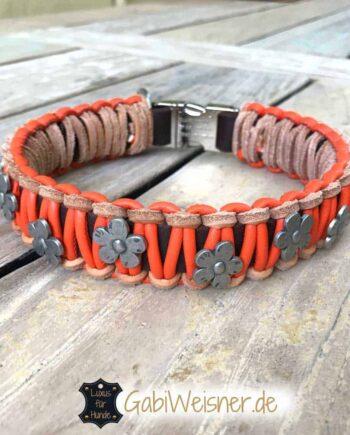 Hundehalsband Leder Mix