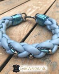 hundehalsband-hellblau-metallic-1