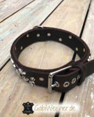 hundehalsband-leder-sterne_2
