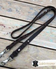 Hundeleine-Fettleder-2-cm-breit-mit-Karabiner-nach-Wunsch-Schnapphaken-1
