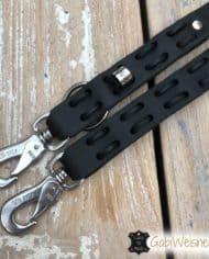Hundeleine-Fettleder-2,5-cm-breit-mit-Karabiner-nach-Wunsch-schwarz-1