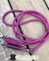hundeleine-leder-pink-6-mm