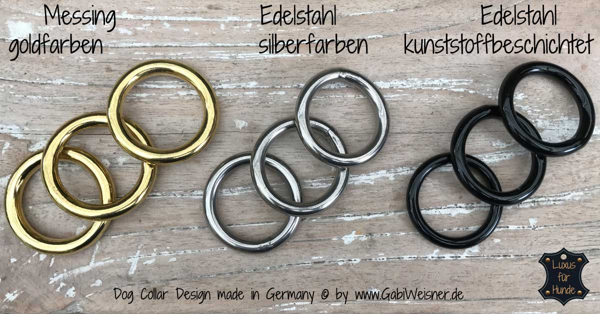 Edelstahl Messing O-Ring RUNDRINGE