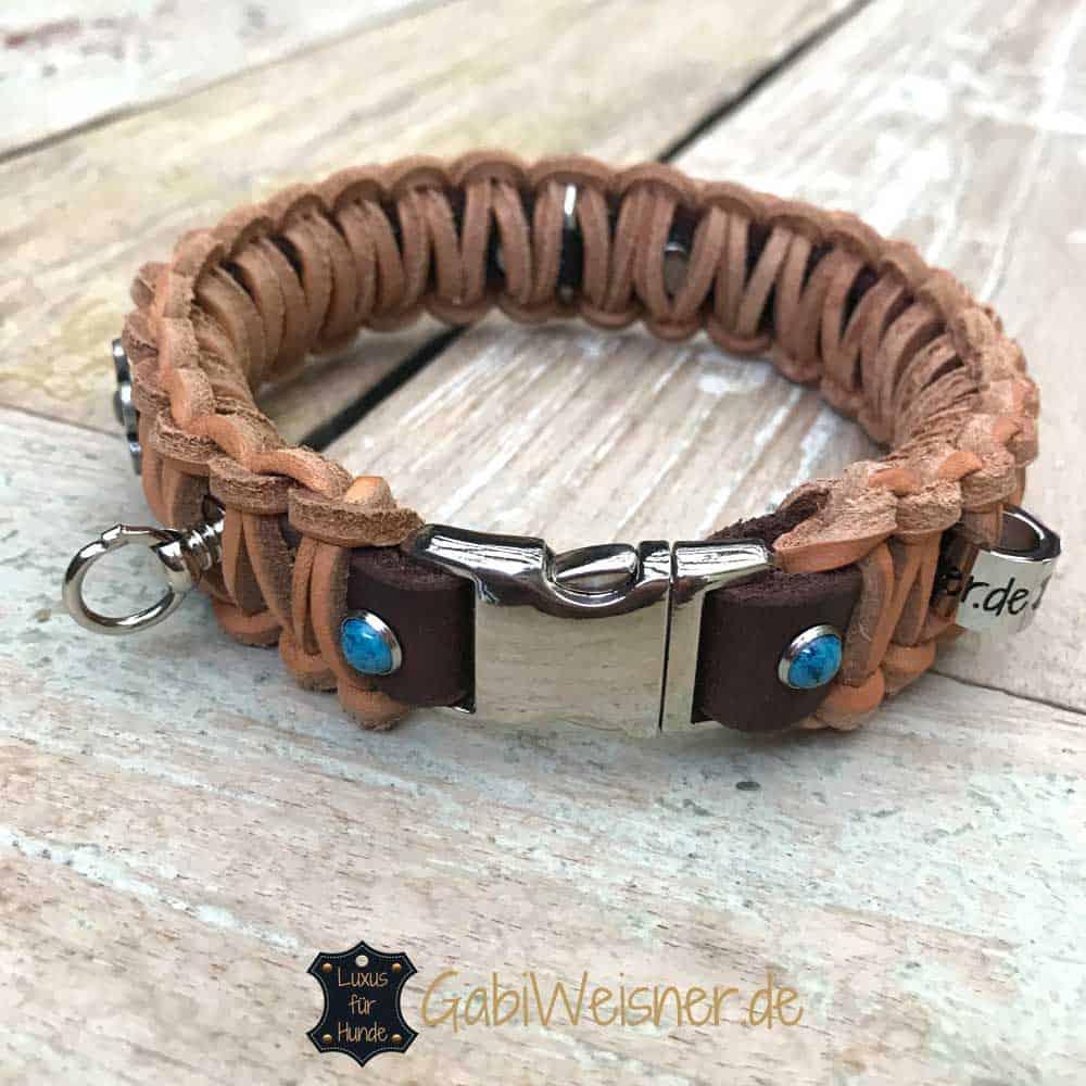Hundehalsband mit Klickverschluss für kleine Hunde