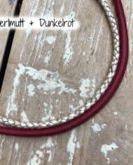 perlmutt-dunkelrot