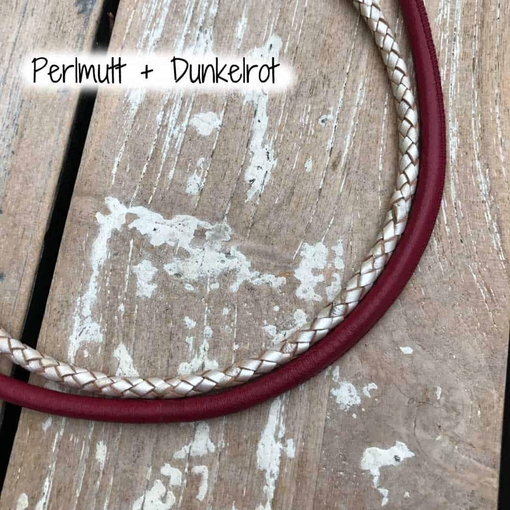 Hundehalsband individuell gestalten Leder Farbe nach Wunsch
