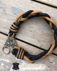 hundehalsband-leder-4-cm-breit-geflochten-in-cognac-und-blau-3