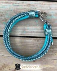 Hundehalsband-Leder-tuerkis-2