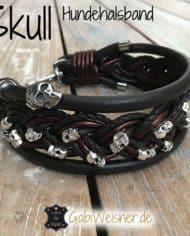 skull-hundehalsband