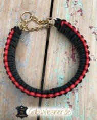 Hundehalsband-Leder-4-cm-breit-Zugstoppkette-3