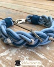Hundehalsband-Leder-geflochten-1