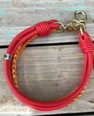 Hundehalsband-Leder-Rot-Orange-im-Mix-2