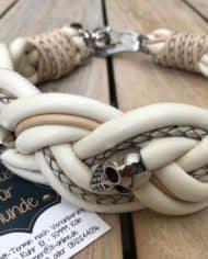 Totenkopf-Hundehalsband-Nappaleder-breit-geflochten-elfenbein-2