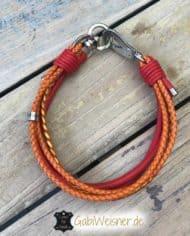 Halsband-und-Leine-Luxus-in-Rot-und-Orange-4