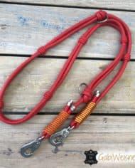 Halsband-und-Leine-Luxus-in-Rot-und-Orange-5