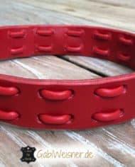 Hundehalsband-Leder-in-Rot-1