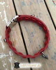 Hundehalsband-Leder-in-Rot-3