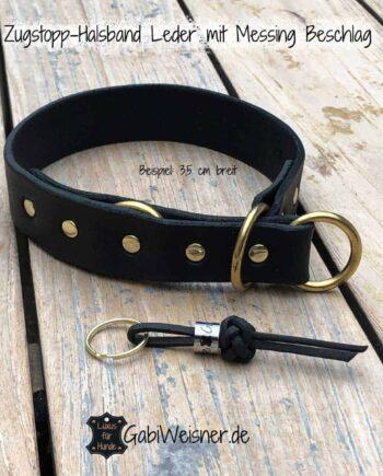 Zugstopp-Halsband