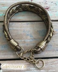 Hundehalsband-Goldstück-Zugstopp