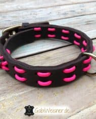 Hundehalsband-Neon-Pink-1