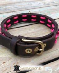 Hundehalsband-Neon-Pink-2