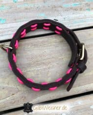 Hundehalsband-Neon-Pink-3
