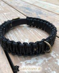 Hundehalsband-Sattelbraun-und-Schwarz-2