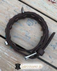 Halsband-und-Leine-Welpen-SET-für-große-Hunderassen-Hundehalsband-Leder-3