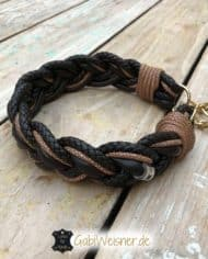 Hundehalsband-Leder-Mix-4-cm-breit-geflochten-2