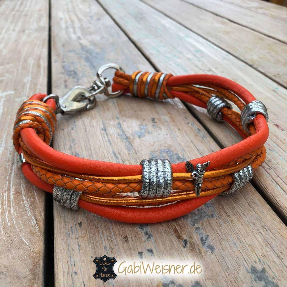 Hundehalsband mit Schutzengel