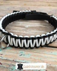 Hundehalsband-3-cm-breit-Leder-in-Schwarz-Weiß-2