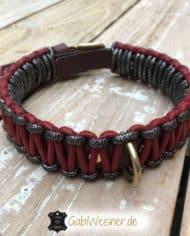 Hundehalsband-in-Schwarz-Rot-3-cm-breit-2