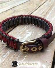 Hundehalsband-in-Schwarz-Rot-3-cm-breit-3