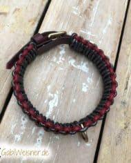 Hundehalsband-in-Schwarz-Rot-3-cm-breit-4