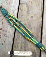 hundehalsband-ohrtunnel-5-cm-breit-ledermix-gelb-türkis-3