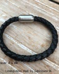 Nappaleder-Ø-6-mm-schwarz