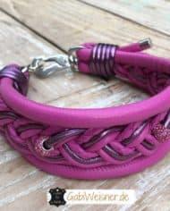 hundehalsband-leder-pink-5-cm-breit-strass-1