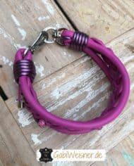 hundehalsband-leder-pink-5-cm-breit-strass-3