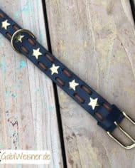 Hundehalsband-mit-Sternen-Leder-3-cm-breit_blau